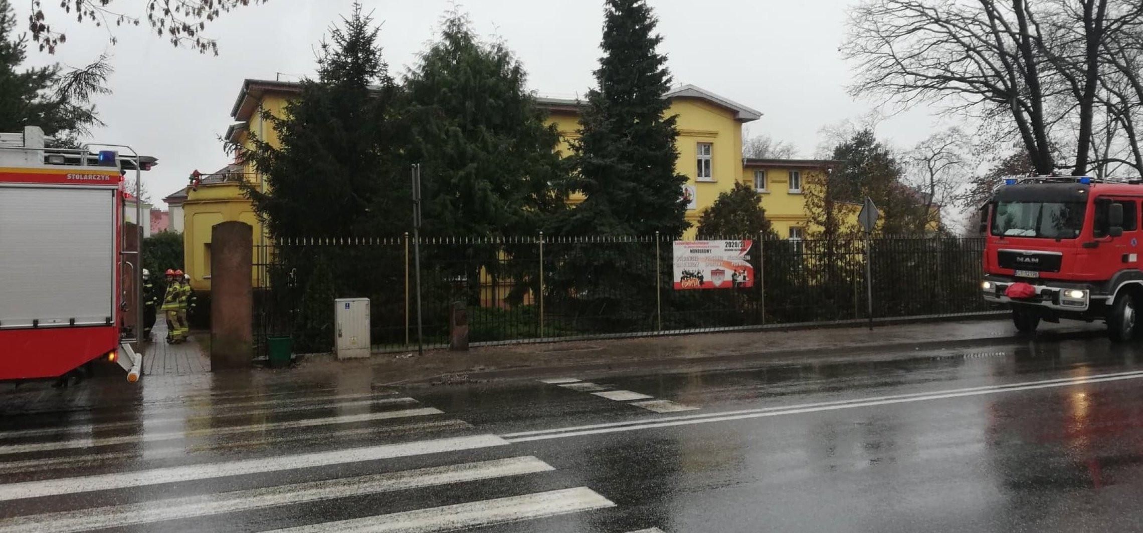 Alarm bombowy w kruszwickim przedszkolu